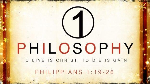 One Philosophy